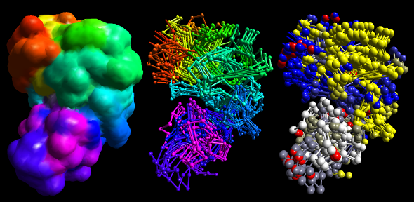 Protein, DNA, RNA, chromosome structure; drug discovery, enzyme evolution; bioengineering; synthetic biology